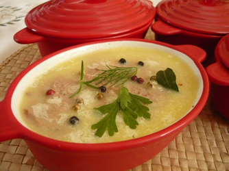 Суп-пюре из тетерева