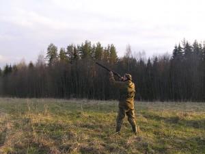 Охотник на вальдшнепа