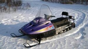 Снегоход Рысь для охоты