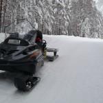 Снегоход для охоты