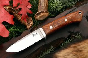 Шкуросъемный нож дроп поинт
