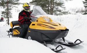 Снегоход тайга для охоты