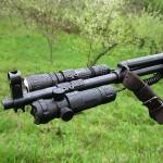 Зеленый фонарь для охоты на ружье