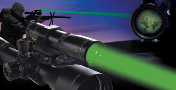 Зеленый фонарь для охоты