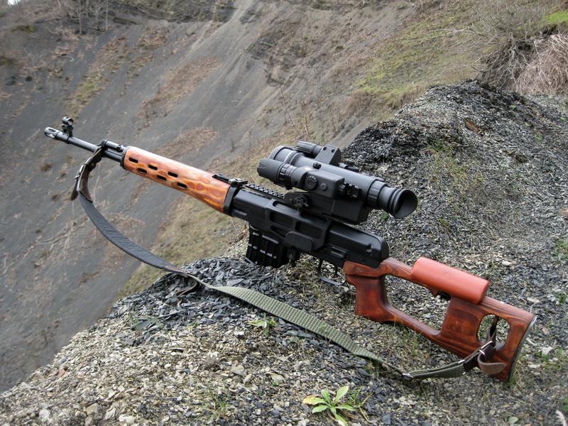 Огнестрельное оружие леблядя