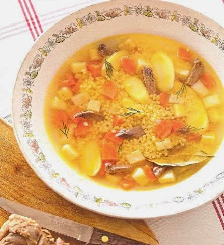 рецепт суп и утки
