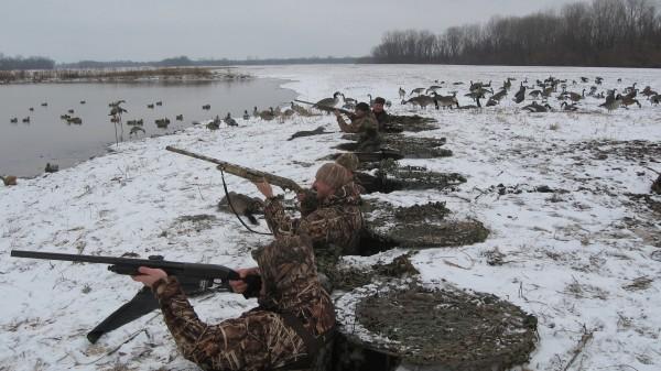 Охотники на утку
