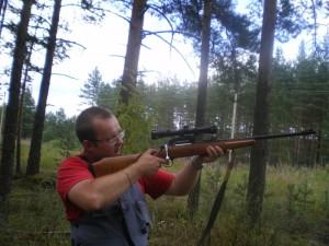 Стрельба из карабина