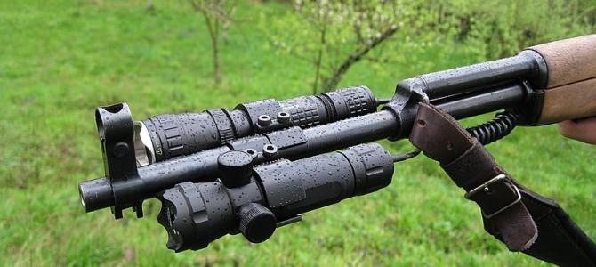 Лазерный фонарик для охоты