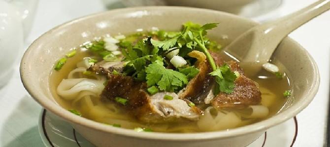 Рецепты разнообразных супов из мяса утки с фотографиями