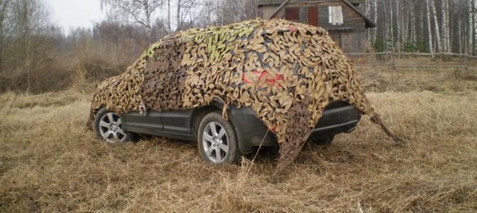 Виды и использование маскировочных сетей для охоты